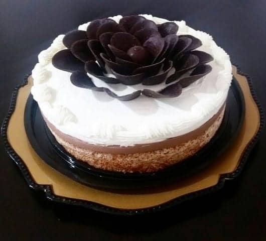 עוגת קוקוס קרם ושוקולד