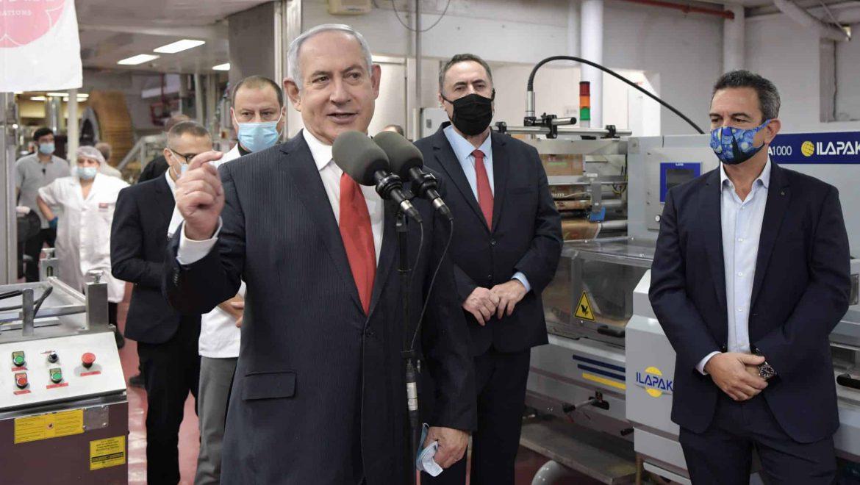 ביקור ראש הממשלה ושר האוצר במפעל 'גילרו' בעיר בית שמש