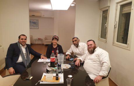 """נציגי הבית היהודי נפגשו אמש, מוצ""""ש עם נציגי ש""""ס"""