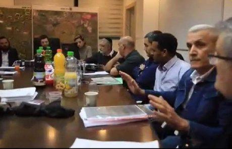 ישיבה סוערת בוועדת תכנון ובנייה