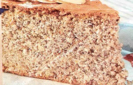 עוגת טורט שקדים כשרה לפסח /מתכון יהודי איטלקי