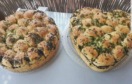 לחם שום נתלש