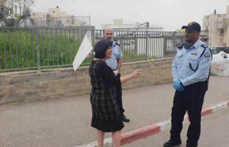 """רה""""ע מגנה את מפרי החוק ומחזקת את כוחות הביטחון"""