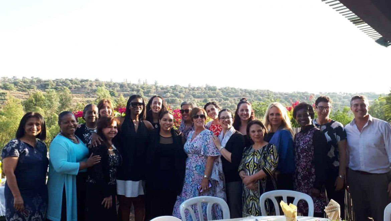 """משלחת מנהיגות נשים מארה""""ב התארחה בליל שבת בנופי אביב"""