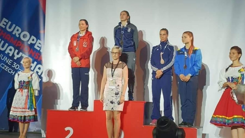 נילי בלוק אלופת אירופה באגרוף בפעם השלישית!