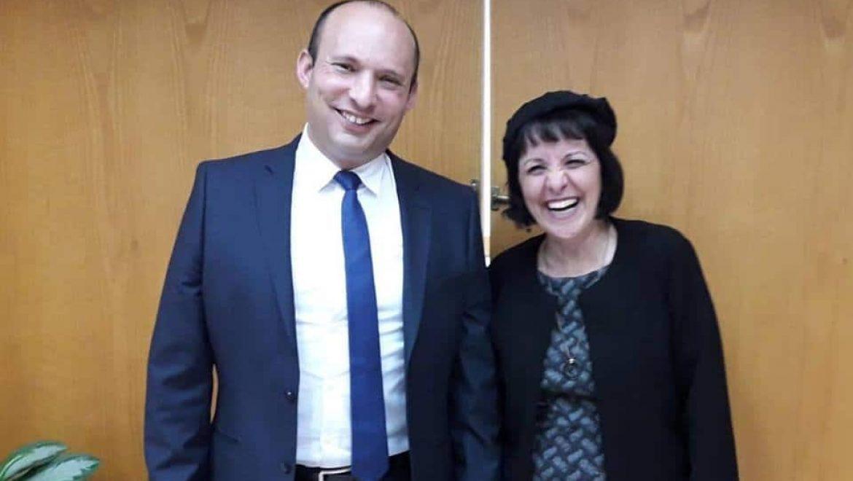 """פגישה ראשונה של ד""""ר בלוך עם שר החינוך נפתלי בנט"""