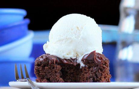עוגת שוקולד וכרובית