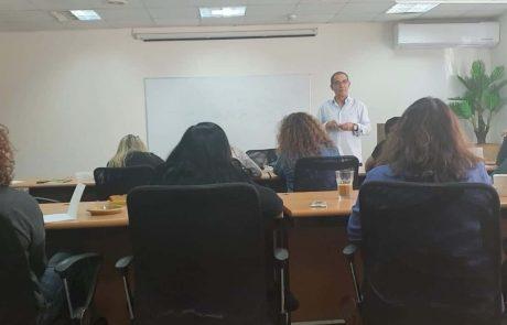 במועצה האזורית מטה יהודה לומדים ערבית