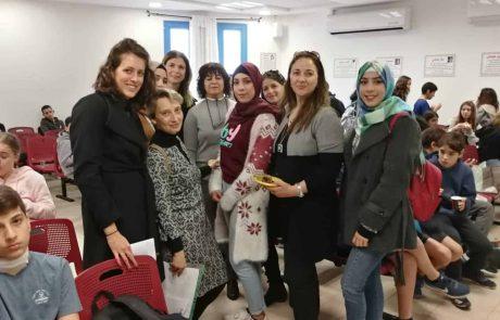 על מעגלים וחיבורים מפגש תלמידים יהודים- ערבים