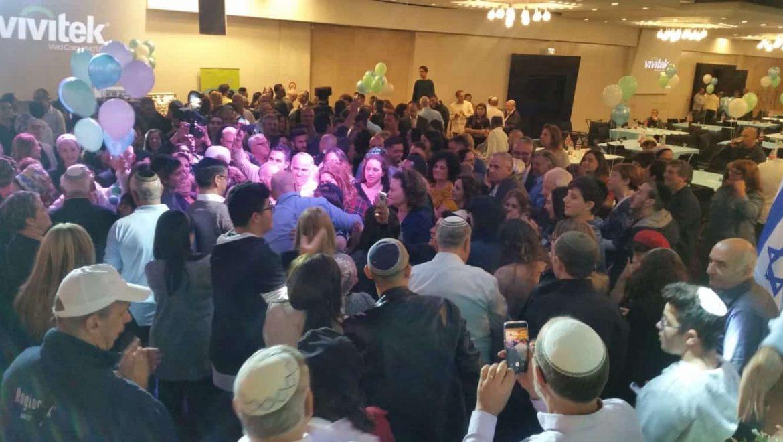 """מסיבת ניצחון של ד""""ר עליזה בלוך בסימן שמחה, אחדות והטרוגניות"""