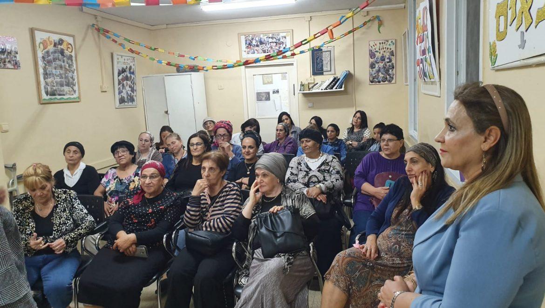 לראשונה בבית שמש מועדון לנשים יוצאות איראן בבית שמש