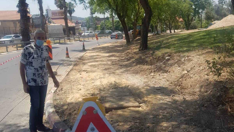 פרויקטים וטיפול בתשתיות בעיר הוותיקה
