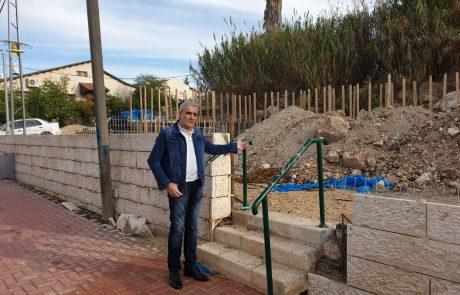 חנייה ומעברים בעמק הזיתים