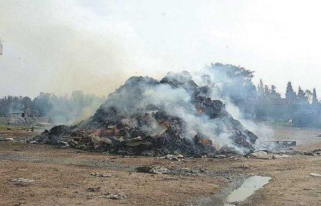 עצומת נגד הקמת משרפת פסולת