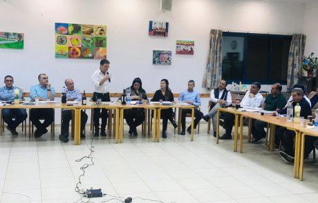 ישיבת מליאה ראשונה וחגיגית במועצה האזורית מטה יהודה