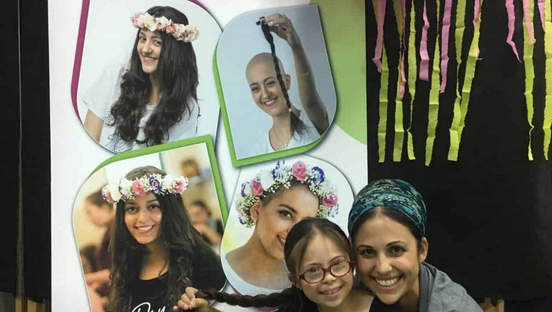 שנה שלישית, 60 תרומות שיער עבור חולי סרטן