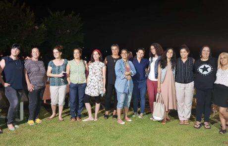 מפגש נשים אקטיביסטיות במטה יהודה לקראת הבחירות