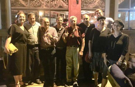 מסיבת הוקרה ופרידה ממאיר מלכה מייסד עמותת 'קרן שמש'