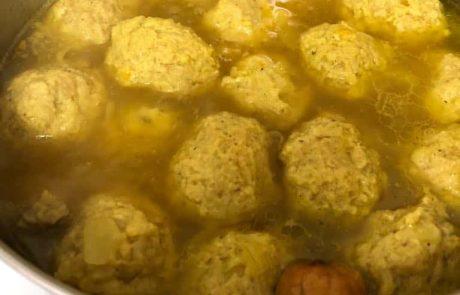 מרק קציצות גונדי פרסי